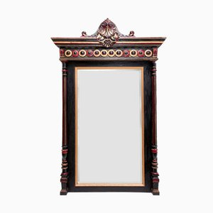 Antique Regency Style French Overmantel Mirror