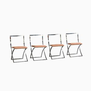 Luisa Folding Chairs by Marcello Cuneo, Set of 4