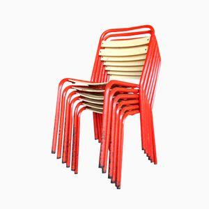 Vintage T2 Stühle von Xavier Pauchard für Tolix, 6er Set