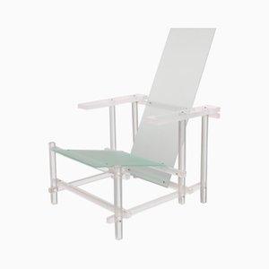 Plexiglas Structured Armchair, 1980s