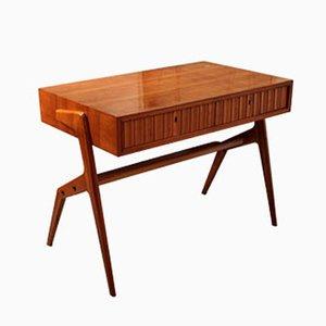 Small Cherrywood Desk, 1950s