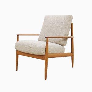 Dänischer Teak Easy Chair von Grete Jalk für France & Son, 1965