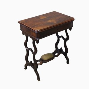 Danish Mahogany Card Table, 1840s