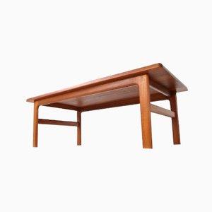 No. 38 Teak Coffee Table from Niels Bach Møbelfabrik, 1970s