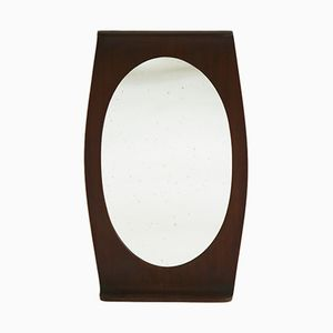 Rosewood Mirror by Franco Campo and Carlo Graffi