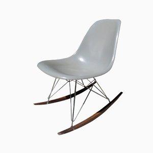 Grauer Schaukelstuhl von Charles & Ray Eames für Herman Miller, 1960er