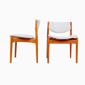 Modell 197 Esszimmerstühle von Finn Juhl für France & Søn, 1960er, 8er Set