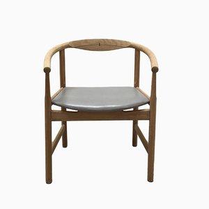 Vintage Armlehnstuhl von Hans J. Wegner für Johannes Hansen