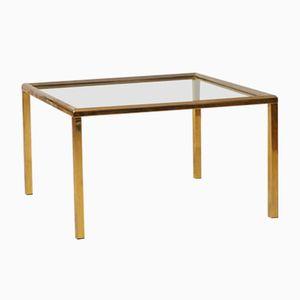 Vintage Brass Side Table