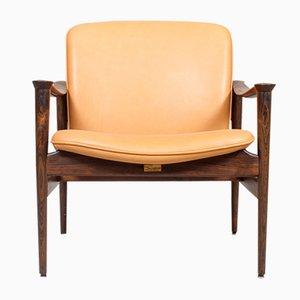 Model 711 Armchair by Fredrik Kayser for Vatne Lenestolfabrikk