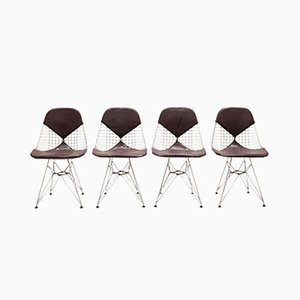 DKR-2 Chairs by Charles & Ray Eames for Herman Miller, 1950s, Set of 5