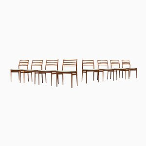 Dining Chairs by Erling Torvits for Sorø Stolefabrik in Denmark, Set of 8