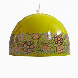 Green Arabia Pendant Light by Kaj Franck for Fog & Mørup
