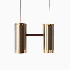 Vintage Cylinder Lamp by Jo Hammerborg for Fog & Mørup