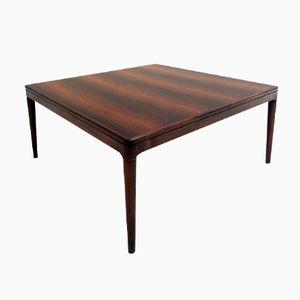Danish Rosewood Coffee Table by Arne Hovmand-Olsen for Mogens Kold, 1950s