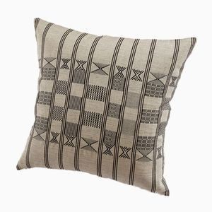 Minna Decorative Cushion in Soft Grey by Nzuri Textiles