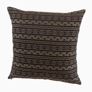 Samburu Decorative Cushion in Chocolate Brown byNzuri Textiles