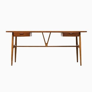 JH 563 Wishbone Desk by Hans J. Wegner for Johannes Hansen