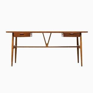 JH 563 Wishbone Schreibtisch von Hans J. Wegner für Johannes Hansen