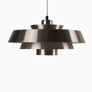 Dänische Nova Lampe von Jo Hammerborg für Fog & Mørup, 1960er