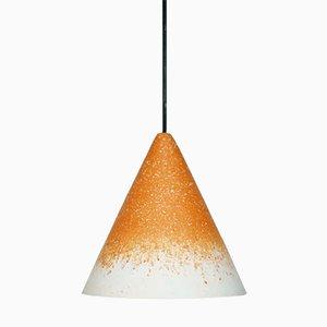 Gesso Lamp Ochre & White by Jonas Edvard
