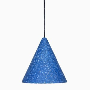 Gesso Lamp in Berlin Blue by Jonas Edvard