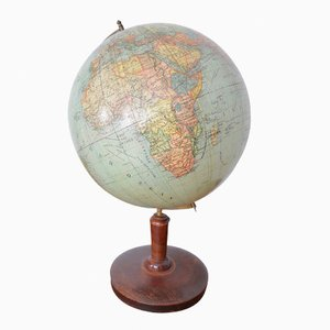 German Globe from Peter J. Oestergaard, 1920s