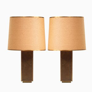 Spanish Table Lamps by Rodolfo Dubarry, 1970s, Set of 2