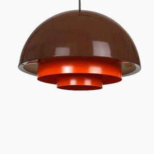 Lampe à Suspension Milieu Mini par Jo Hammerborg pour Fog & Mørup