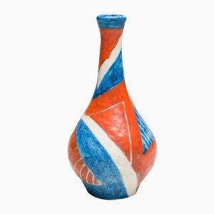 Vaso grande in ceramica di Guido Gambone, Italia, 1951
