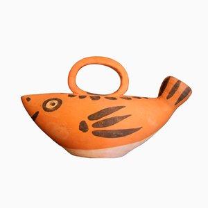 Mid-Century Fischkrug von Picasso für Madoura