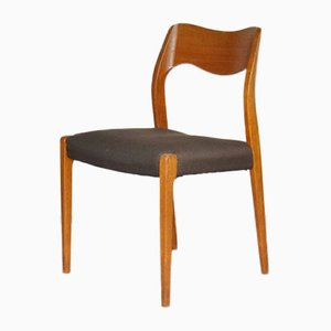 Danish No. 71 Teak Dining Chair by Niels Otto Moller, 1960s