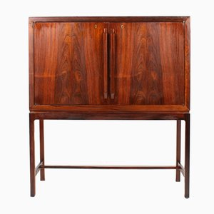 Mid-Century Norwegian Dry Bar Cabinet by Torbjørn Afdal for Bruksbo