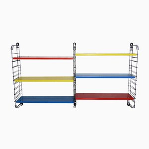 Dutch Multicolored Metal Rack by Adrian Dekker for Tomado, 1950s