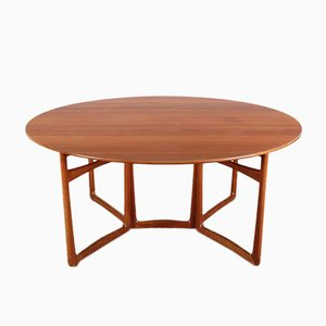 Mid-Century Modern Teak 20/59 Folding Dining Table by Hvidt and Mølgaard Nielsen