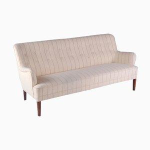 Danish Beige Woollen Sofa by Peter Hvidt for Fritz Hansen, 1950s