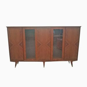 Italian Mahogany Buffet by Gio Ponti for Ariberto Colombo, 1940s