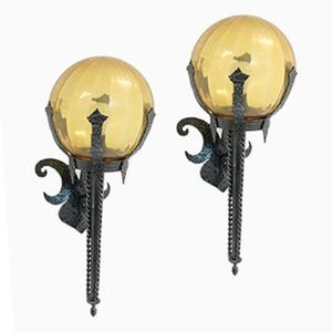 gothic wall lights gothic wall mounted pair of horses wall sconces