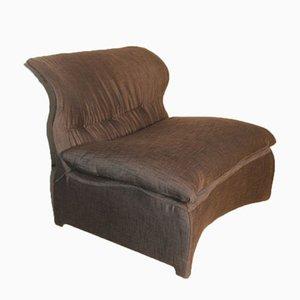 Vela Bassa Lounge Chair by Giovanni Offredi for Saporiti, 1970