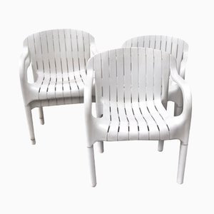 Vintage Dangari Chairs by Pierre Paulin for Allibert, Set of 6