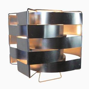 Lampada da tavolo in alluminio di Max Sauze, Francia, anni '60