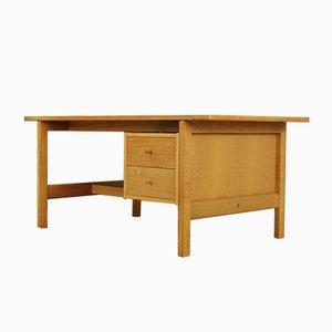 Danish Oak Desk by Hans J. Wegner, 1980s