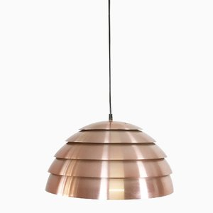 Swedish Copper Pendant Light by Hans Agne Jakobsson for Hans Agne Jakobsson AB, Markaryd, 1960s