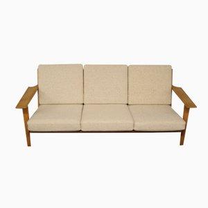 GE 290 Three-Seater Sofa by Hans J. Wegner for Getama, 1960s
