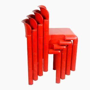 Finnish Plastic Chairs by Eero Aarnio for UPO, 1970s, Set of 4