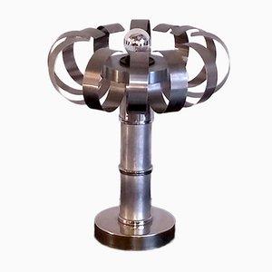 Italian Space Age Steel Table Lamp