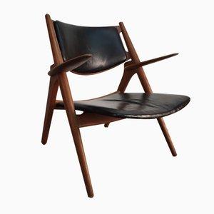Dänischer CH28 Sawhorse Stuhl von Hans J. Wegner für Carl Hansen & Son, 1950er