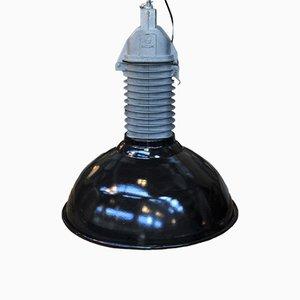 Industrielle Fabriklampe von Philips, 1950er