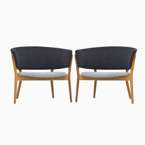 ND 83 Lounge Chairs by Nanna Ditzel for Søren Willadsen, 1950s, Set of 2