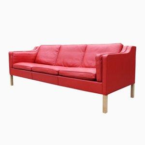 Dänisches 2213 Sofa mit Drei Sitzen von Børge Mogensen für Fredericia Furniture, 1980er